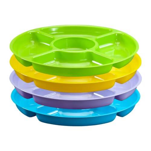 12inch tray / Assorted Vibrant