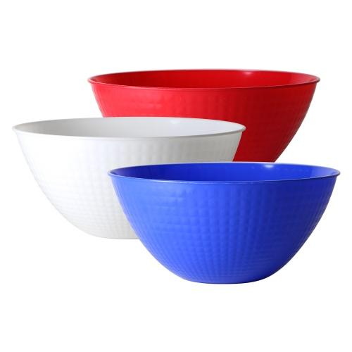 100oz Serving Bowl / Assoorted Red/White/Blue