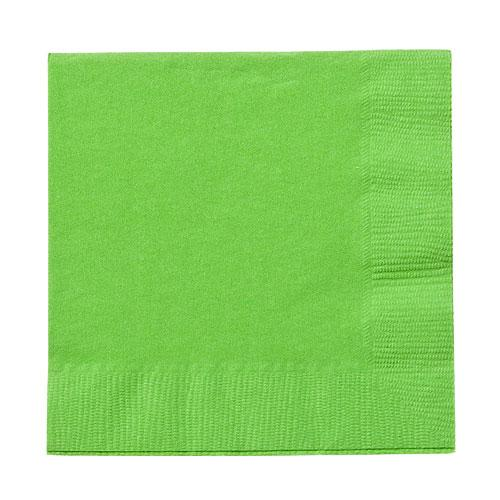 Beverage Napkin / Lime Green