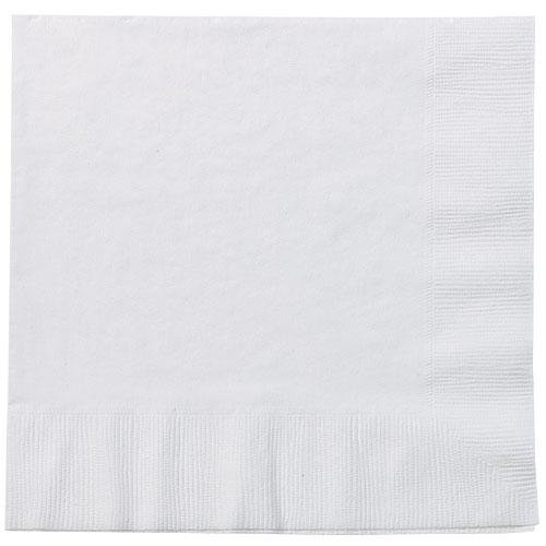 Luncheon Napkin / White