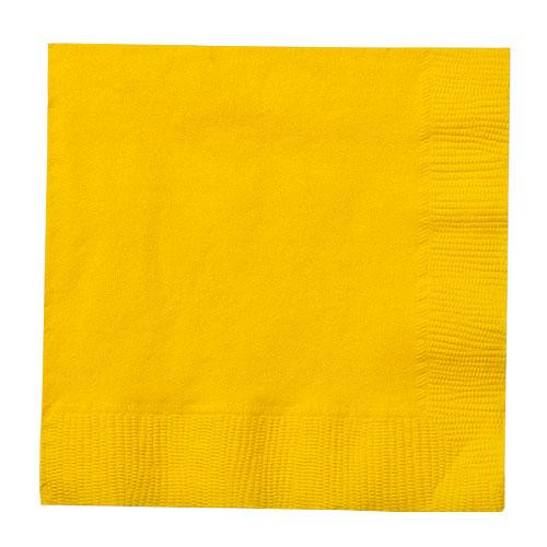 Beverage Napkin / Sunshine Yellow