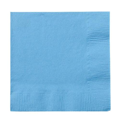 Beverage Napkin / Light Blue
