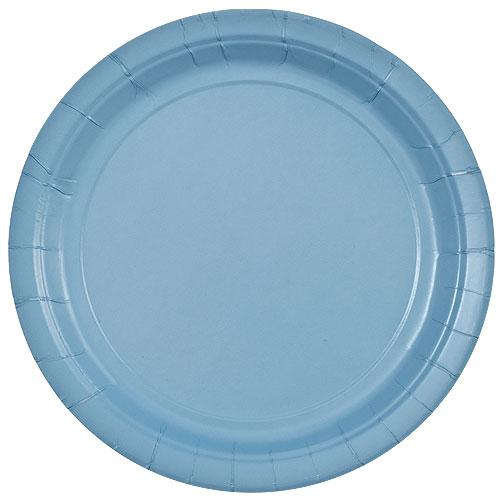 9inch Plate / Light Blue