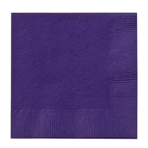 Beverage Napkin / Purple