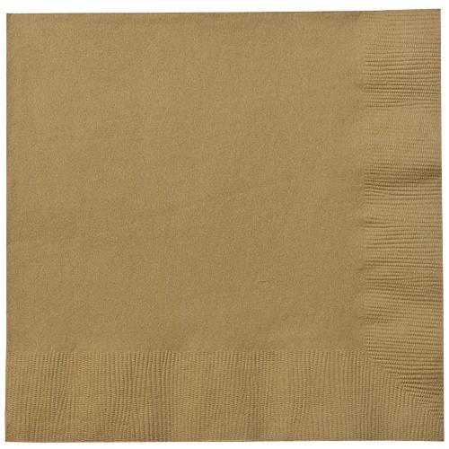 Luncheon Napkin / Gold
