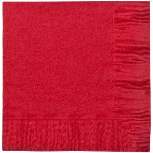 Luncheon Napkin / Red