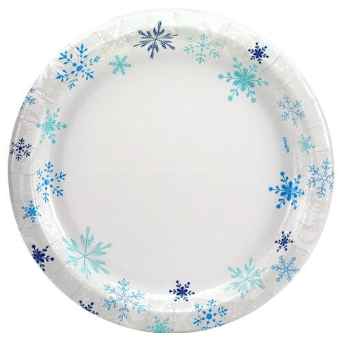 10inch Plate / Snowflake
