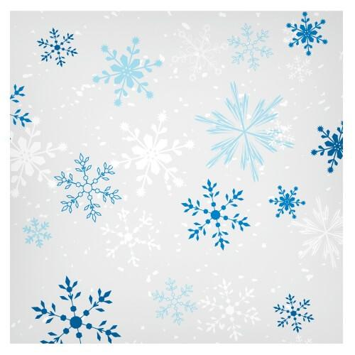 Lunch Napkin / Snowflake