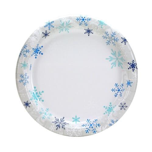 8.75inch Plate / Snowflake
