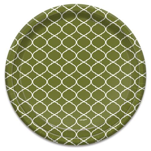 10inch Plate / Forest Lattice