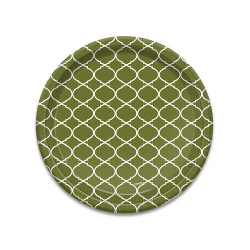 8.75inch Plate / Forest Lattice