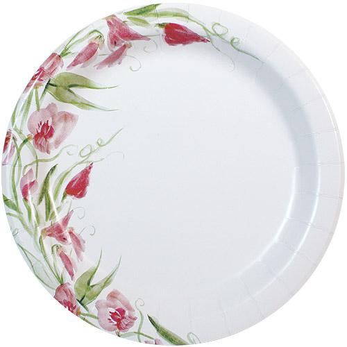 10inch Plate / Pink Floral