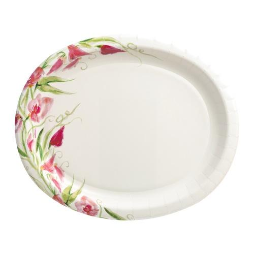 12inch Plate / Pink Floral