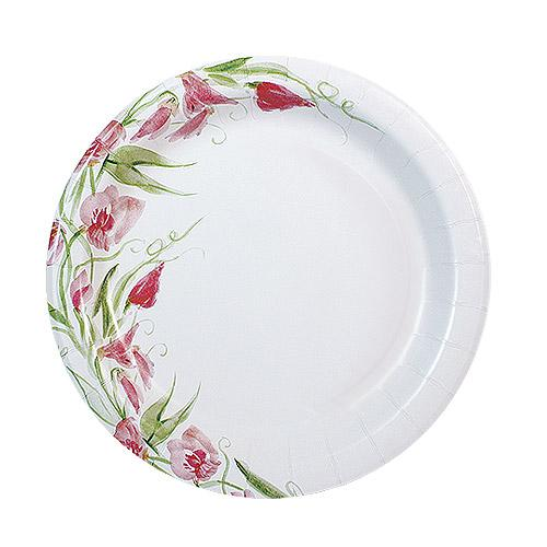 7inch Plate / Pink Floral