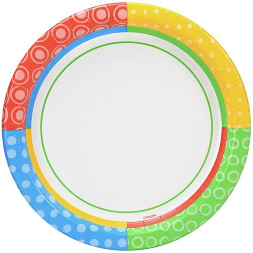 10inch Plate / Dazzling Dots