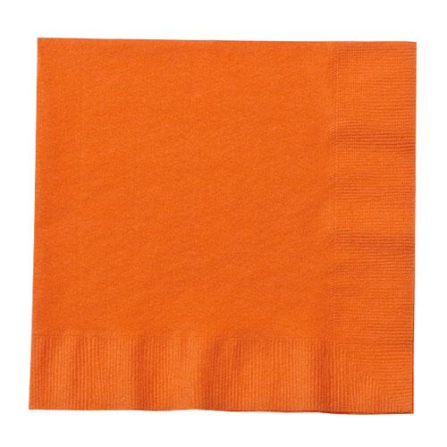 Beverage Napkin / Orange