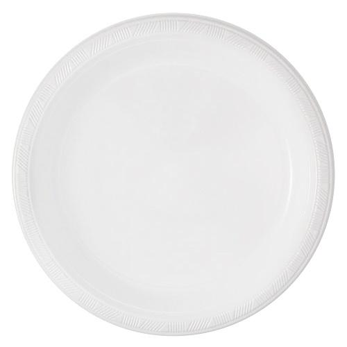 10inch Plate / White