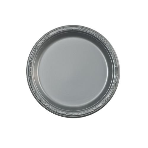 7inch Plate / Silver