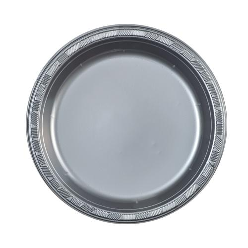 9inch Plate / Silver