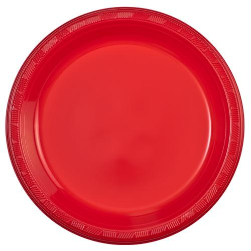10inch Plate / Red