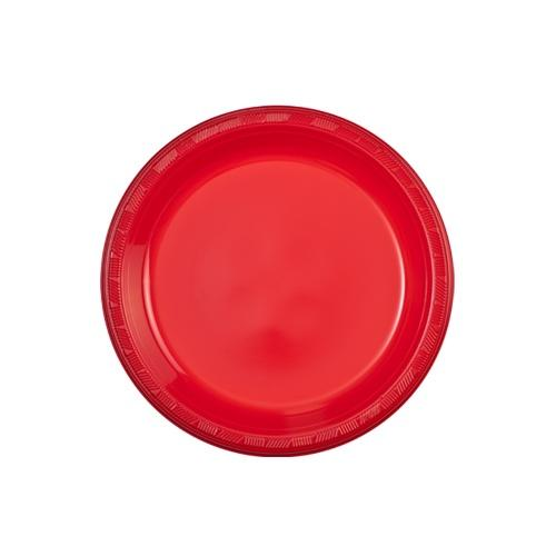 7inch Plate / Red