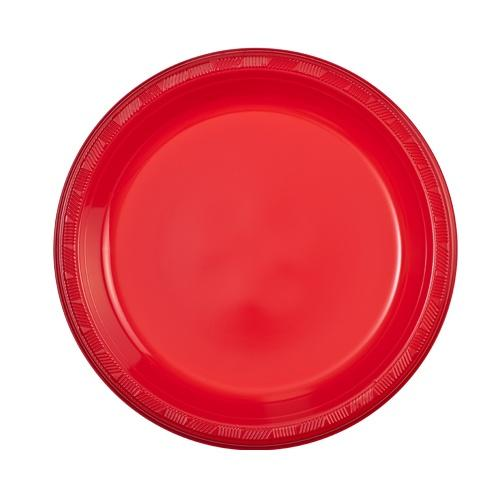 9inch Plate / Red