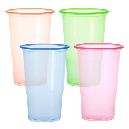 Plastic Neon Cup<br/>Size Options: 10oz Cup and 18oz Cup