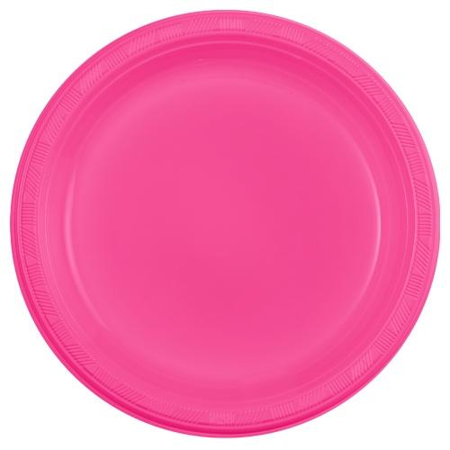 Premium Heavy Weight Plastic Dinnerware<br/>Size Options: 10inch Plate, 7inch Plate and 9oz Cup