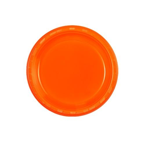 Premium Heavy Weight Plastic Dinnerware<br/>Size Options: 7inch Plate and 9oz Cup