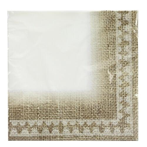 Lunch Napkin / Burlap