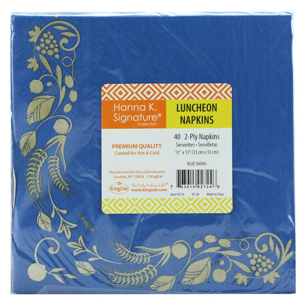 Luncheon Napkin / Stalks Blue