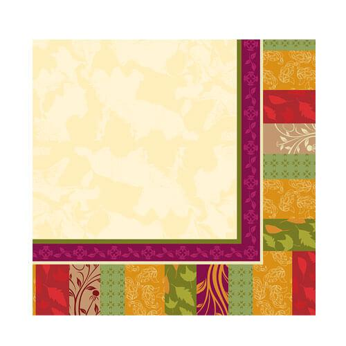 Beverage Napkin / Fall Expression