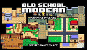 Old School Modern Graphics Pack One