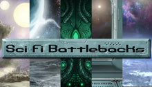 Load image into Gallery viewer, Sci-Fi Battlebacks