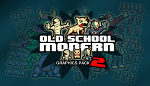 Old School Modern Graphics Pack 2