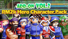 Load image into Gallery viewer, Add-on Vol.2: RM2K Hero Character Pack