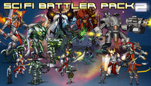Load image into Gallery viewer, Sci-Fi Battlers 2