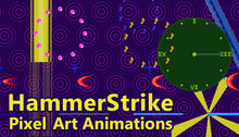 Load image into Gallery viewer, HammerStrike Pixel Art Animations