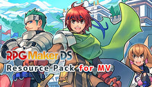 Load image into Gallery viewer, RPG Maker DS Resource Pack for MV