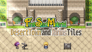 FSM - Desert Town and Ruins Tiles
