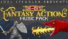 Load image into Gallery viewer, 16 Bit Fantasy Action Music Pack