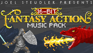 16 Bit Fantasy Action Music Pack