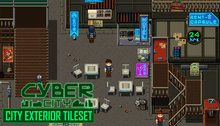 Load image into Gallery viewer, Cyber City: Exterior Tiles