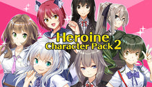 Load image into Gallery viewer, Heroine Character Pack 2