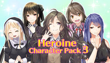 Load image into Gallery viewer, Heroine Character Pack 3