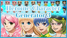 Load image into Gallery viewer, Heroine Character Generator 3