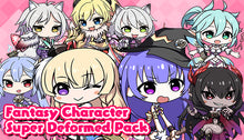 Load image into Gallery viewer, Fantasy Character Super Deformed Pack