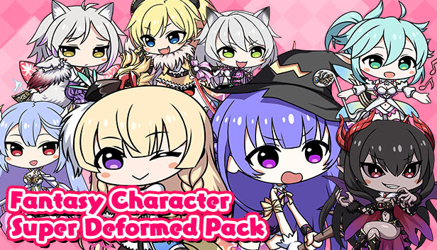 Fantasy Character Super Deformed Pack