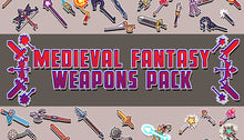 Load image into Gallery viewer, Medieval Fantasy Weapons Pack