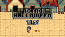 Load image into Gallery viewer, Retro Halloween Tiles